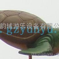 供应韵域游乐设备-儿童戏水小品-海龟
