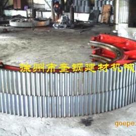 球磨机齿轮2.4X7米