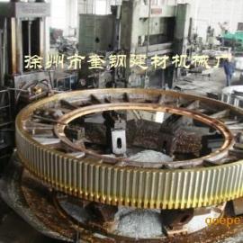 球磨机齿轮 铸钢 滚齿 加工
