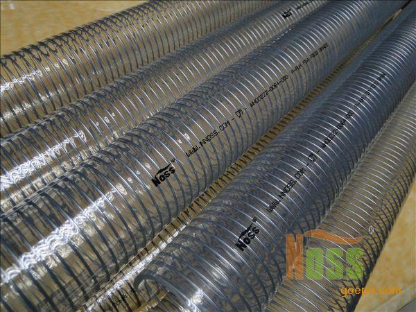钢丝塑料软管,食品级钢丝塑料软管
