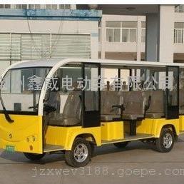 T14-Q 14座黄色电动观光车