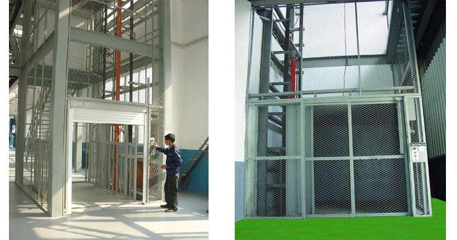 升降机/升降平台 郑伟 产品展示 广州液压式升降机 > 升降货梯/导轨式图片