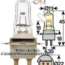 投影仪灯泡欧司朗HLX64251 6V20W米泡