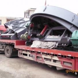 石膏盘式造粒机发往广西鹿寨