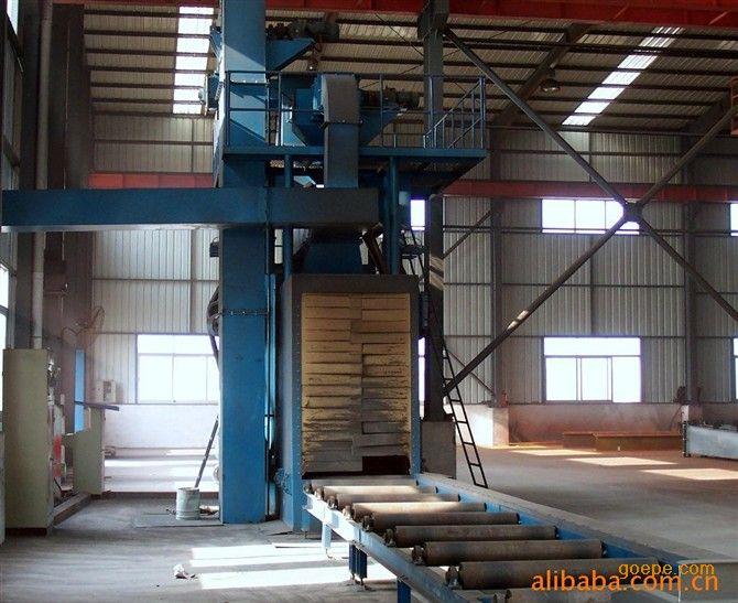 江苏钢结构设备钢结构抛丸清理机钢结构抛丸除锈钢