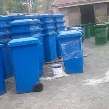 铁制垃圾桶--铁制果皮箱
