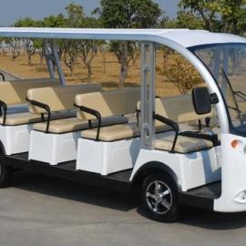河北绿通新款11电动观光车