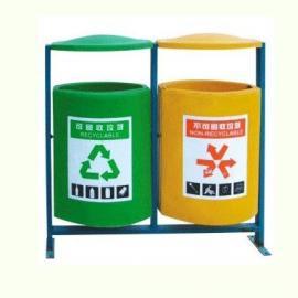 LF-E016二分�玻璃�垃圾桶 �|莞�L安玻璃�分�垃圾桶