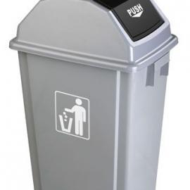 东莞烟灰盅弹盖垃圾桶 惠州塑胶垃圾桶LF-A005