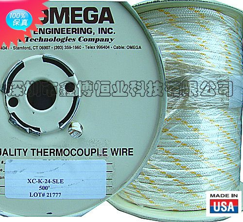 omega热电偶测温线|XC-K-24-SLE K型热电偶测温线