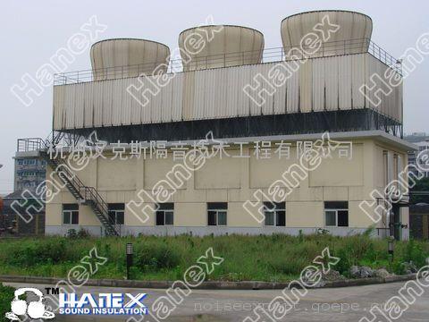 大型中央空调冷却塔噪声治理方案