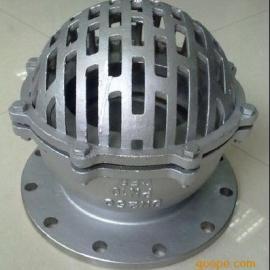 H42W不锈钢底阀  不锈钢水泵底阀