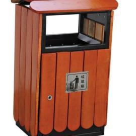 钢木垃圾桶、惠州公园垃圾桶、东莞小区钢木果皮箱