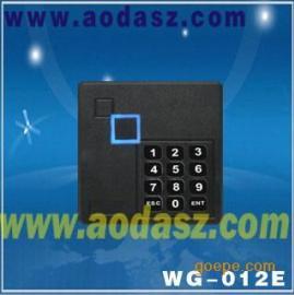 广州奥达科技黑色方形门禁读卡器WG-12E门禁配件