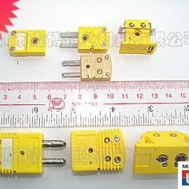 K型热电偶插头插座|美国omega K型热电偶插