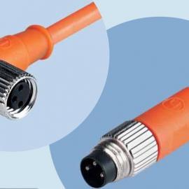 M12/M8航空插头连接器接插件传感器插头连接器