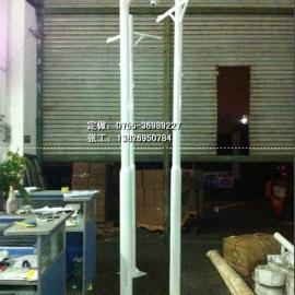小区监控立杆报价 深圳赛德sd3000镀锌监控立杆厂家