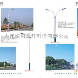 路灯灯杆、圆锥杆、八棱杆、十二棱杆-大连通用路灯制造公司