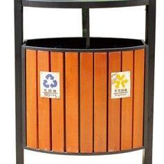 惠州钢木垃圾桶 东莞钢木垃圾桶 长安钢木垃圾桶