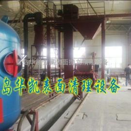 矿井管道内壁喷砂清理机喷涂生产线钢管内壁涂装线