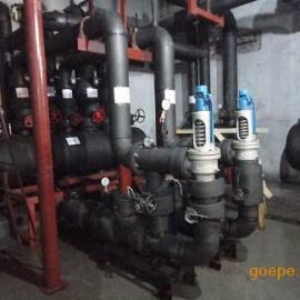 北京儿童医院保定医院使用地源热泵专用高层直连供暖机组