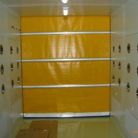 常州卷帘门货淋室 苏州快速门货淋室 杭州自动门货淋室
