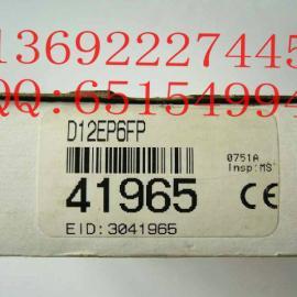 邦纳BANNER 光纤放大器 光纤传感器D12EP6FP