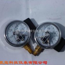 60MM径向真空电接点压力表