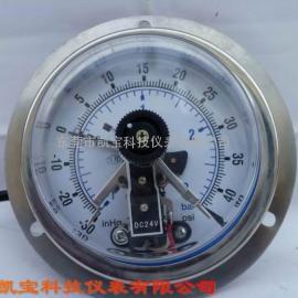 60MM轴向真空电接点压力表