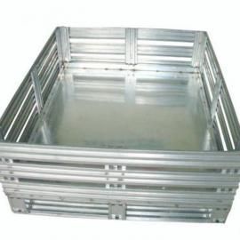 镀锌卡板、镀锌管卡板、镀锌铁周转箱