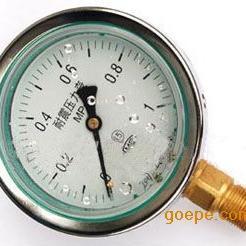 瑞科仪表供应高精度不锈钢耐震压力表