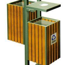 东莞钢木垃圾桶、室外分类垃圾桶、分类回收垃圾桶