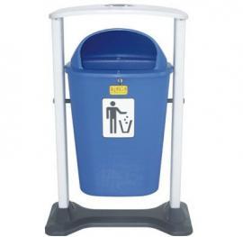 50L豪华收集桶(附内桶) 东莞石龙塑胶垃圾桶