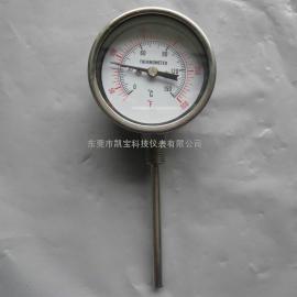 不锈钢双金属温度计WSS-411/热电阻双金属温度计/远传温度计