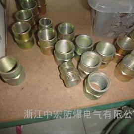 防爆活接头 碳钢管接头 防爆密封接头