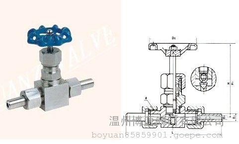 j23w焊接式针型阀图片