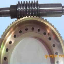 精密双导程无间隙蜗轮蜗杆副--鸿达减速机