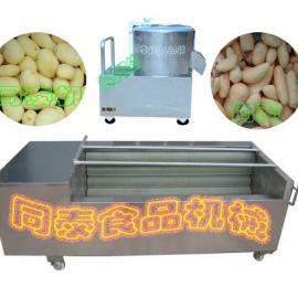 土豆剥皮机,红薯剥皮机
