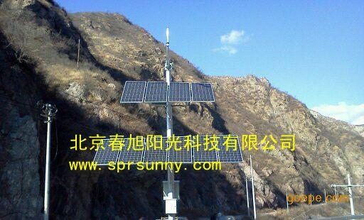 甘肃森林防火太阳能发电系统