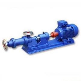 I-1B螺杆浓浆泵 卫生级单螺杆泵 全不锈钢卧式螺杆泵