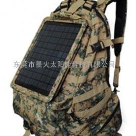 太阳能充电背包:太阳能包