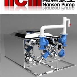 节能型不锈钢无负压变频供水设备
