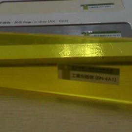 进口PVC黄色透明板,黄色PVC板透明板