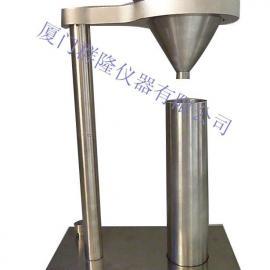 氧化铝松装密度仪,白瓷灰尘堆积密度仪