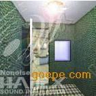 可拆卸式产品检测消声室 半消声室 全消声室 尖劈消声室