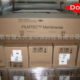 美国DOW陶氏纳滤膜NF270-400纳滤机设备膜管芯