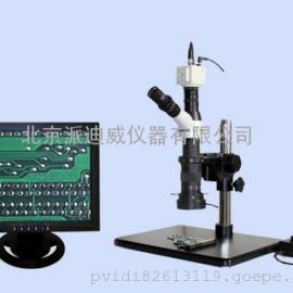 单目单筒显微镜 光学视频两种功能 可接电脑,可接显示器