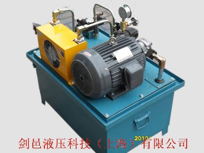 数控金属切削机床液压系统图片