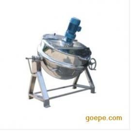 可倾式搅拌蒸汽夹层锅9