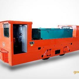 8吨双室蓄电池电机车